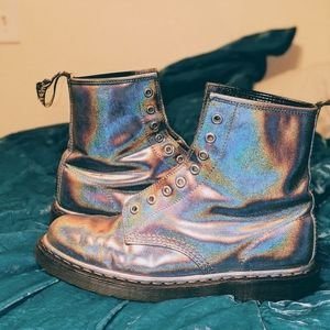 Custom Holographic Dr.Marten Boots 10